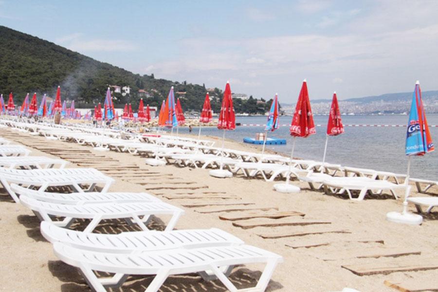 İstanbul'da Denize Girilecek Yerler - Büyükada Aya Nikola Halk Plajı